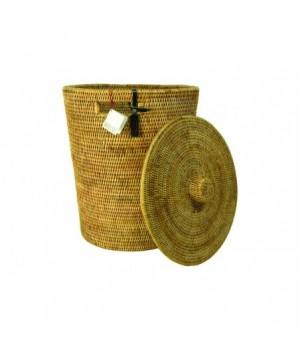 Basket   à pain rectangular.