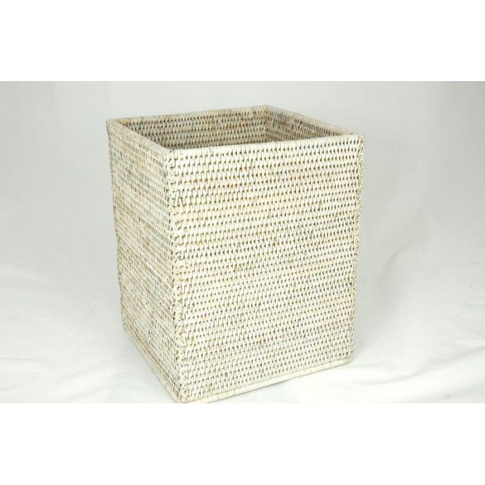 Corbeille à papier carrée*