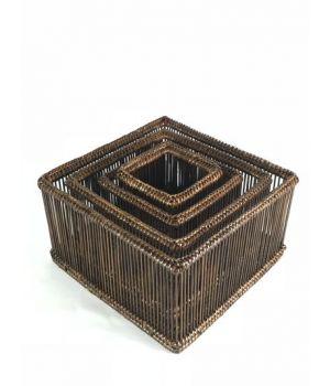 Corbeilles carrées (4)*
